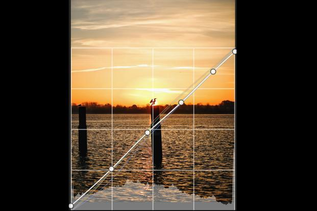 These curves give a user much finer control over settings such as brightness levels and colours in different parts of a photo, and allows for much deeper and specific editing.