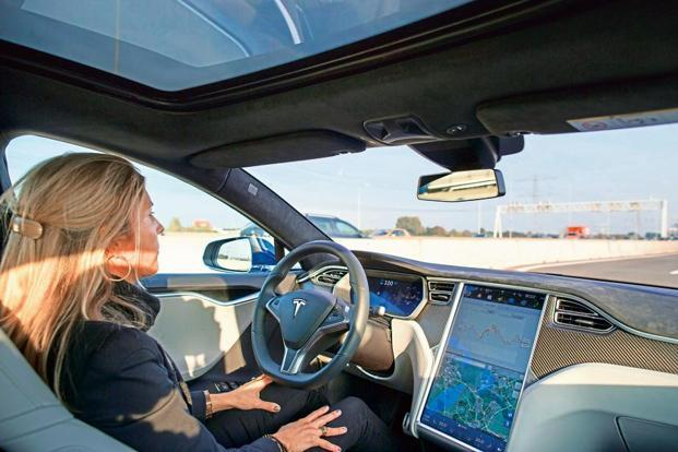 The self-driving car firms are required to disclose the number of disengagements when a human driver needs to take control to avoid an accident or respond to technical problems. Photo: Bloomberg