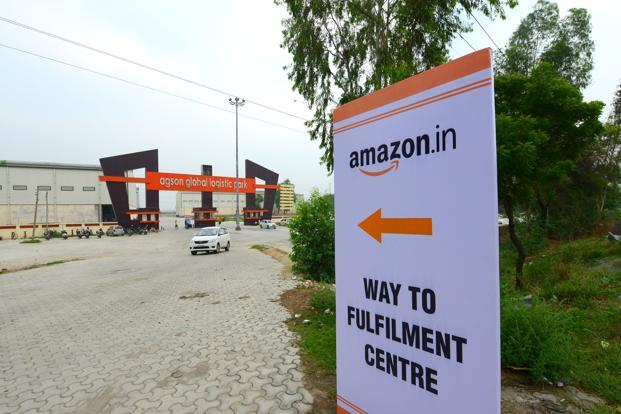 Amazon currently operates an e-commerce marketplace in India and competes with the likes of Flipkart and Snapdeal. Photo: Ramesh Pathania/Mint