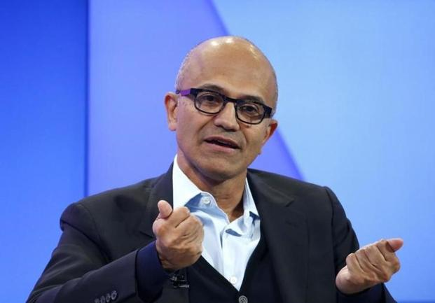 Microsoft CEO Satya Nadella's will be in India to address Microsoft's conference on 'Future Decoded' in Mumbai later this month. Photo: Reuters
