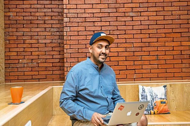 Anish Tripathi gets into office early and makes sure he attends to every email. Photo: Aniruddha Chowdhury/Mint