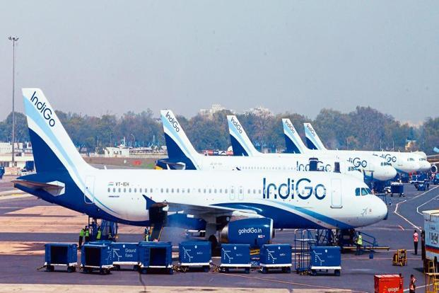 Following the suspension of licence, IndiGo would have to outsource the training programme, which would result in additional cost for the carrier. Photo: Ramesh Pathania/Mint