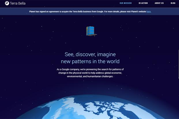 Google Sells Satellite Imaging Business Terra Bella To Planet Labs - Latest google satellite images