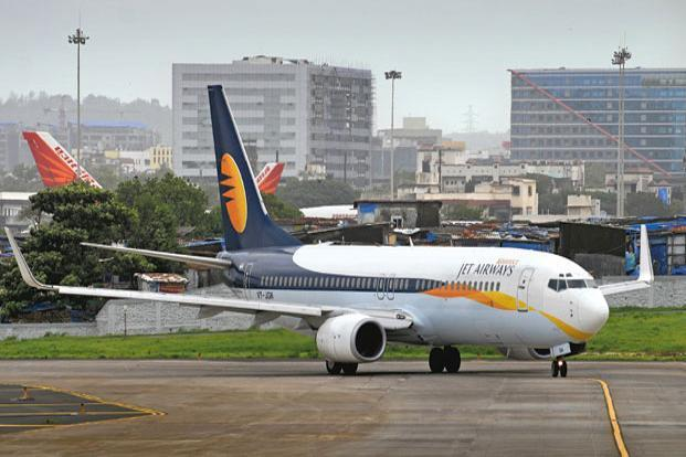 Jet Airways' consolidated operating revenue for the December quarter increased just 1.4% over the same period last year. Photo: Abhijit Bhatlekar/Mint