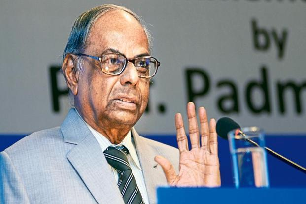 Former RBI governor C. Rangarajan was speaking at a panel discussion on 'Union budget-2017', organized by ICFAI Foundation for Higher Education. Photo: Ramesh Pathania/Mint