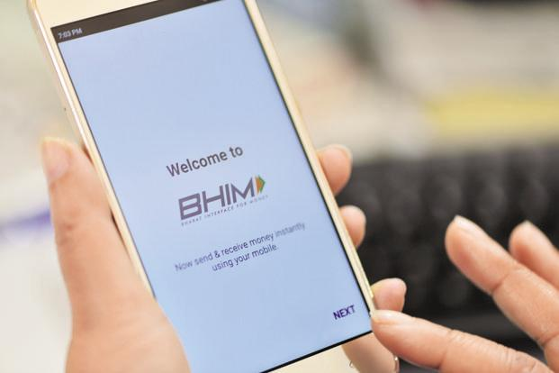 According to NPCI, till 31 January, 13.8 million customers downloaded the BHIM app out of which 3.6 million customers have linked the app to their bank account. Photo: Priyanka Parashar/Mint