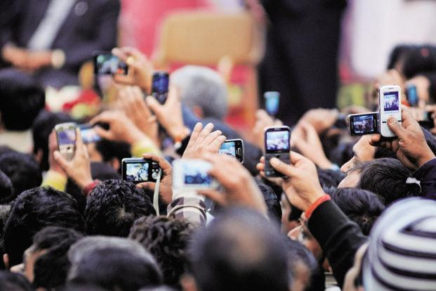 India has already achieved 34% smartphone penetration, which  is not far behind some developed markets.  Photo: Pradeep Gaur/Mint