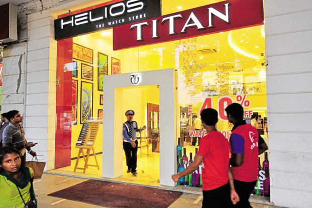 Sales of Titan watches, jewellery, eye-wear and other businesses, including precision engineering and accessories rose from a year ago. Photo: Ramesh Pathania/Mint