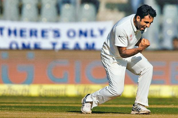 Jayant Yadav (above) may play the Hyderabad Test against Bangladesh. Photo: Danish Siddiqui/Reuters.