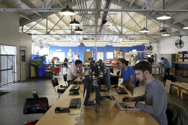 The national survey of tech workers was conducted online by  consulting firm Censuswide. Photo: Reuters