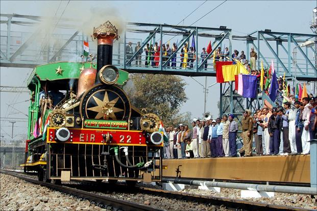 The train, which is a great attraction among steam engine lovers across the globe, is run occasionally on different routes by Indian Railways as a treat to adventure lovers. Photo: HT