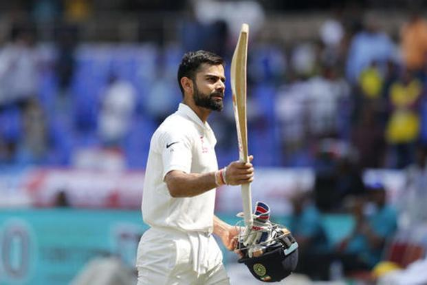 Virat Kohli's double tons came in the series against the West Indies, New Zealand, England and now Bangladesh, which is in India for a one-off Test. Photo: AP