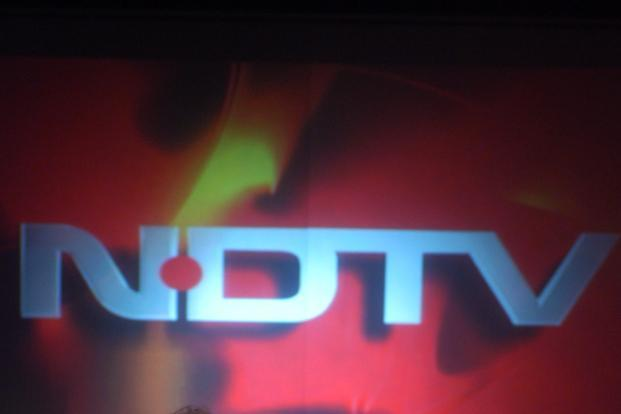 NDTV's television news business generated revenue of Rs108 crore, down from Rs130 crore in the same period last year. Photo: HT
