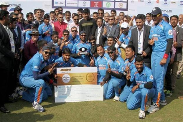 The victory was also a sweet revenge for the Indian team, who had lost to Pakistan in the league stage of the current edition. Photo: PTI