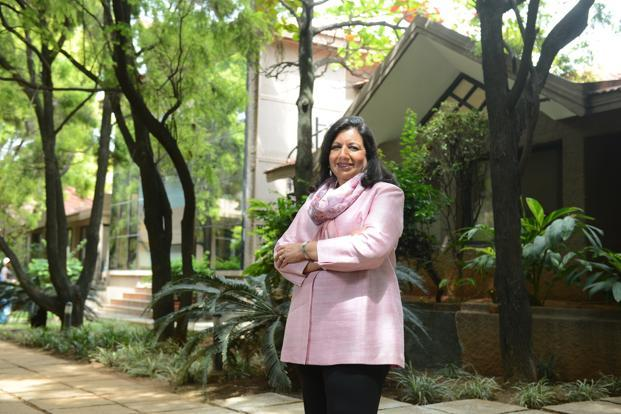 Kiran Mazumdar-Shaw, chairman and managing director of Biocon, and an independent director at Infosys. Photo: Hemant Mishra/Mint