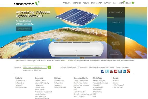 Videocon Industries follows January-December fiscal year.