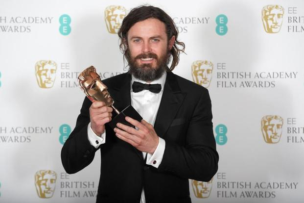 The best actor Bafta award went to Casey Affleck, for his role in 'Manchester By The Sea', beating Ryan Gosling who was nominated for 'La La Land'. The American drama also won original screenplay for its writer and director Kenneth Lonergan