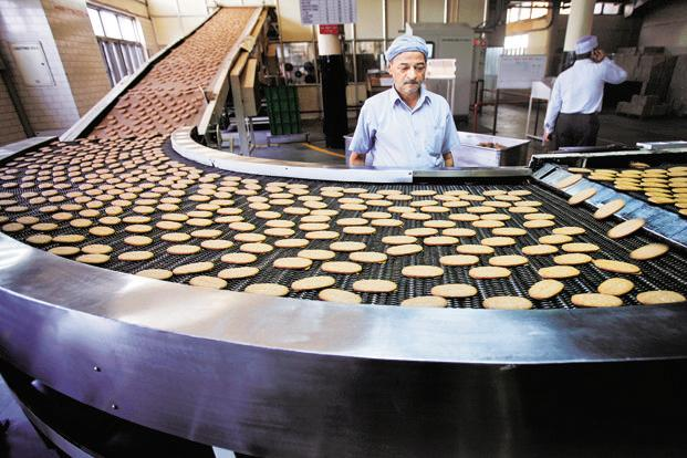 Britannia Industries Limited's shares closed up  at Rs3,273 on the BSE, up 1.15% from previous close. Photo: Reuters