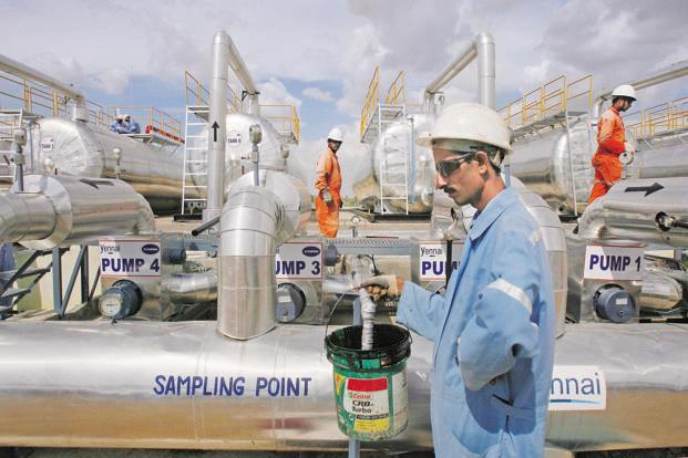 Cairn India's projects constitute about 80,000 barrels of oil equivalent to 100,000 barrels of oil equivalent at peak production. Photo: Reuters