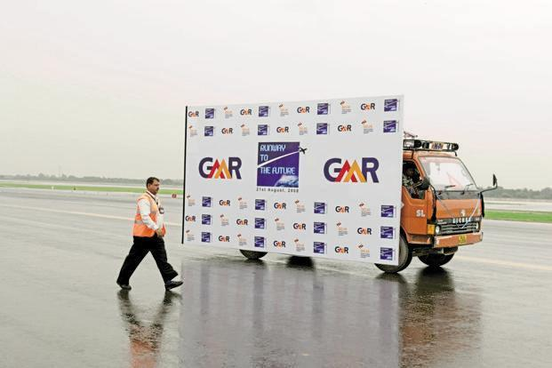 GMR Infra posted a net profit of Rs40.01 crore in the corresponding quarter of the 2015-16. Photo: Mint