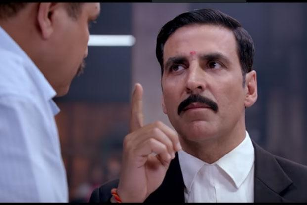 Akshay Kumar in a still from 'Jolly LLB 2'. The courtroom drama that opened to Rs13.20 crore on Friday grew over the weekend, making a grand Rs50.46 crore by the end of Sunday.
