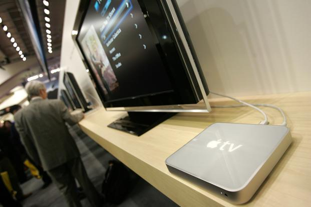 The new Apple TV box codenamed 'J105' will be released this year. Photo: AFP