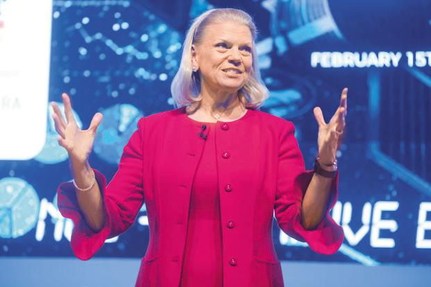 Ginni Rometty, chairman, president and CEO of IBM. Photo: Abhijit Bhatlekar/Mint
