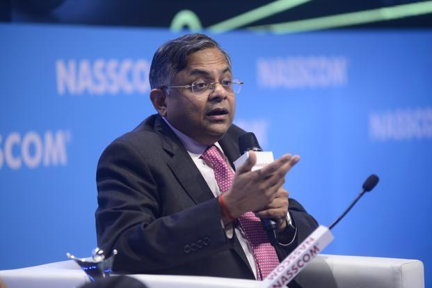 TCS chief N. Chandrasekaran is set to take over the chairmanship of Tata Sons next week. Photo: Abhijit Bhatlekar/Mint