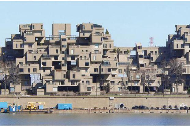 The Habitat 67. Photo: Wikimedia Commons
