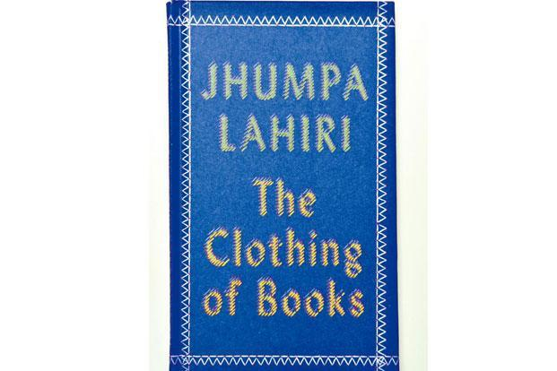 Jhumpa Lahiri writes about the silence and mystery of the naked book, without visuals or blurbs to distract.