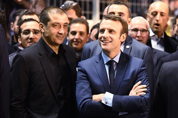 French presidential election candidate Emmanuel Macron has lately made fake news one of his campaign themes, accusing Russian state-owned propaganda outlets of spreading disinformation about him. Photo: AFP