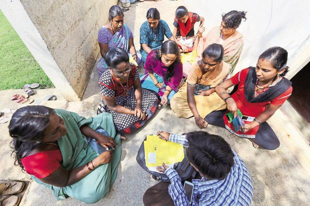 Demonetisation disrupted the microfinance business in the months of November and December. Photo: Hemant Mishra/Mint