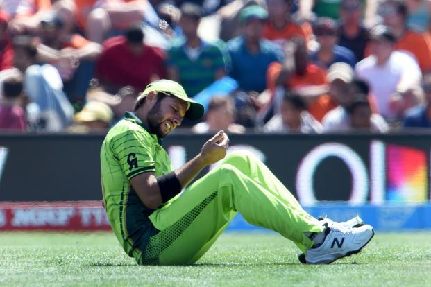 A file photo of Pakistan all-rounder Shahid Afridi. Photo: AFP