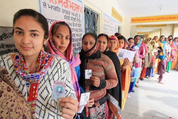 The voters mentioned explicitly that they will not vote a candidate with an unsavoury track record on gender. Derogatory comments, crimes against women or espousing gender inequality are viewed as disqualifiers. Photo: PTI