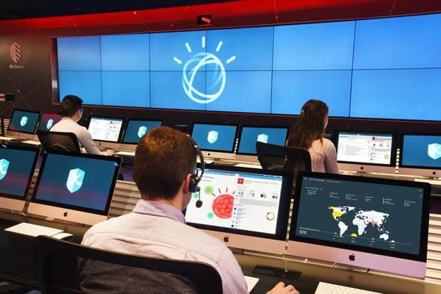 The IBM X-Force Command Center uses cognitive computing.