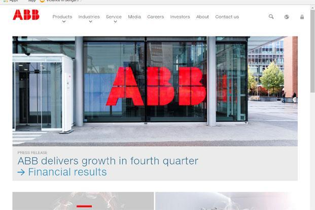 ABB has 45 factories in India at present.