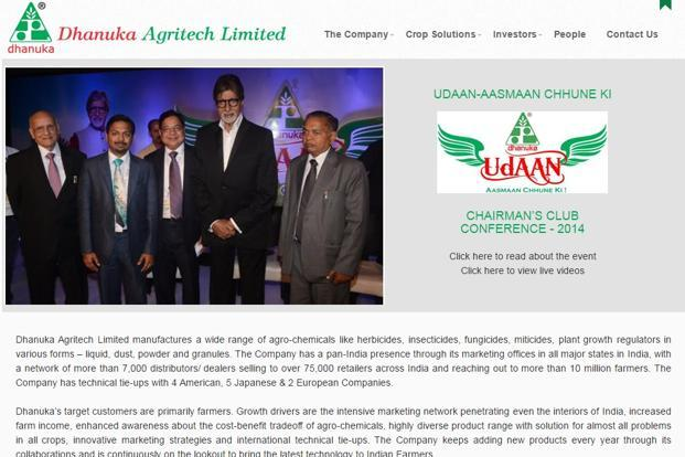 Dhanuka Agritech launched seven new products in the current fiscal year and has more launches in the pipeline.