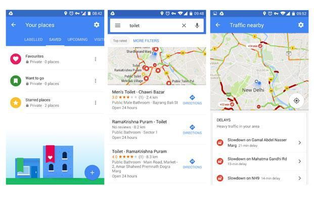 These new features in Google Maps are available on  both iOS and Android smartphones.