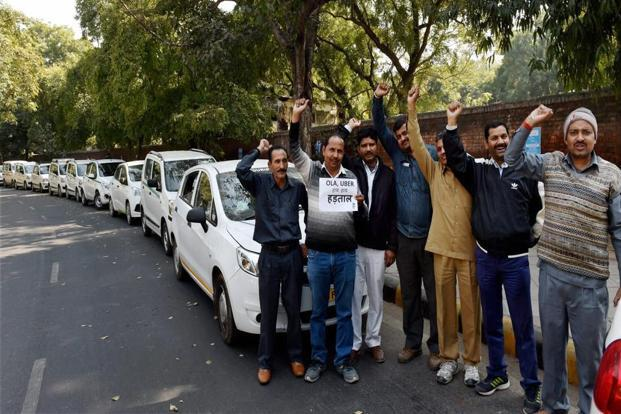 Ola, Uber drivers begin cab strike in Bengaluru