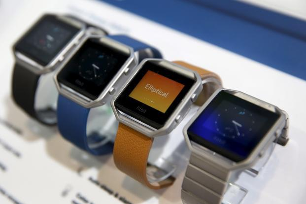 Fitbit is now seeking to push its corporate-wellness offerings. Photo:Reuters