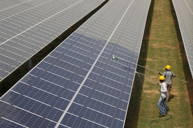 Currently, most of the solar power developers in India have been sourcing solar modules and equipment from countries such as China as they are cheaper. Photo: Reuters