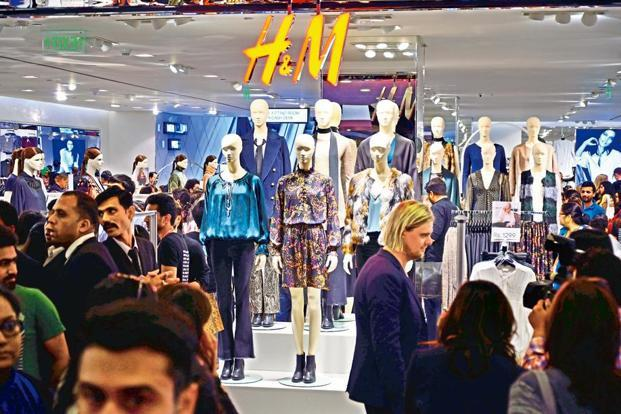 Select City Walk beat Mumbai's High Street Phoenix mall and Ambience Mall in New Delhi to get the Swedish retailer's collection first. Photo: Pradeep Gaur/Mint