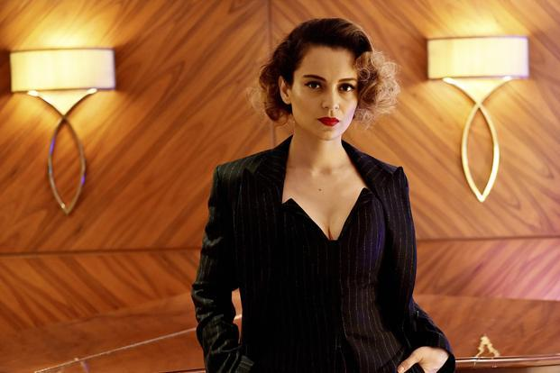 Bollywood actress Kangana Ranaut during an interview to promote her film Rangoon in New Delh. Photo: PTI