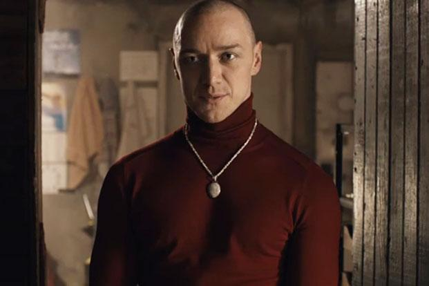 James McAvoy in a still from 'Split'.