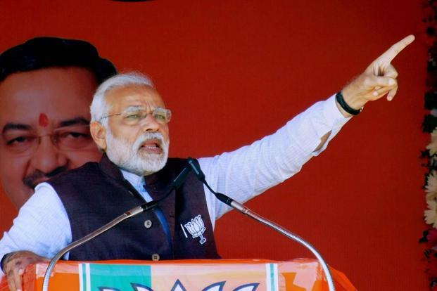 PM Modi accuses Congress govt for misleading people on Naga accord