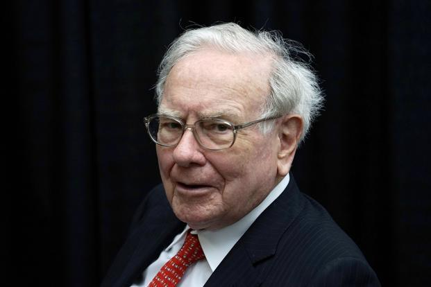 File photo. Warren Buffett said the build-up of wealth will be interrupted for short periods from time to time. Photo: Reuters