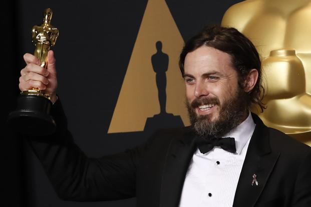 Casey Affleck's understated performance as a taciturn working man who unexpectedly has to look after his teenage nephew beat challenges from Denzel Washington and Ryan Gosling to win the Academy Award. Photo: Reuters