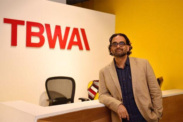Govind Pandey, CEO, TBWA\India. Photo: Pradeep Gaur/Mint