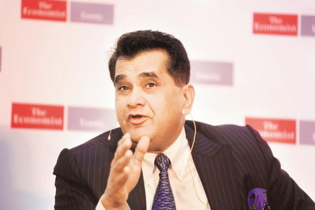 Allow global bids only for projects with land, green clearances: Amitabh Kant