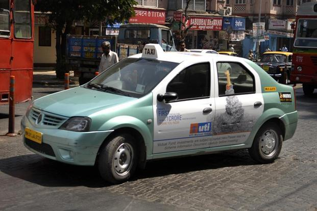 The Meru taxi fares have come down from the existing government approved rates of Rs23 per km for day time and Rs28.75 per km during night time rides. Photo: Abhijit Bhatlekar/Mint